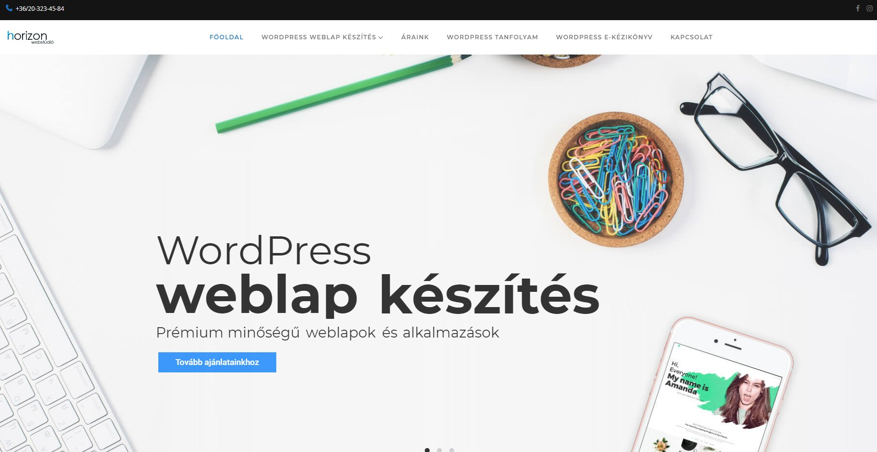 WordPress honlapkészítés a vállalkozók érdekében